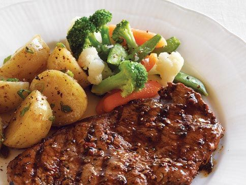 Steak Potatoes Fathers Everywhere Will Appreciate A Good Home Cooked Meal Of