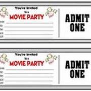 DIY Movie Party Invitation {using PicMonkey}