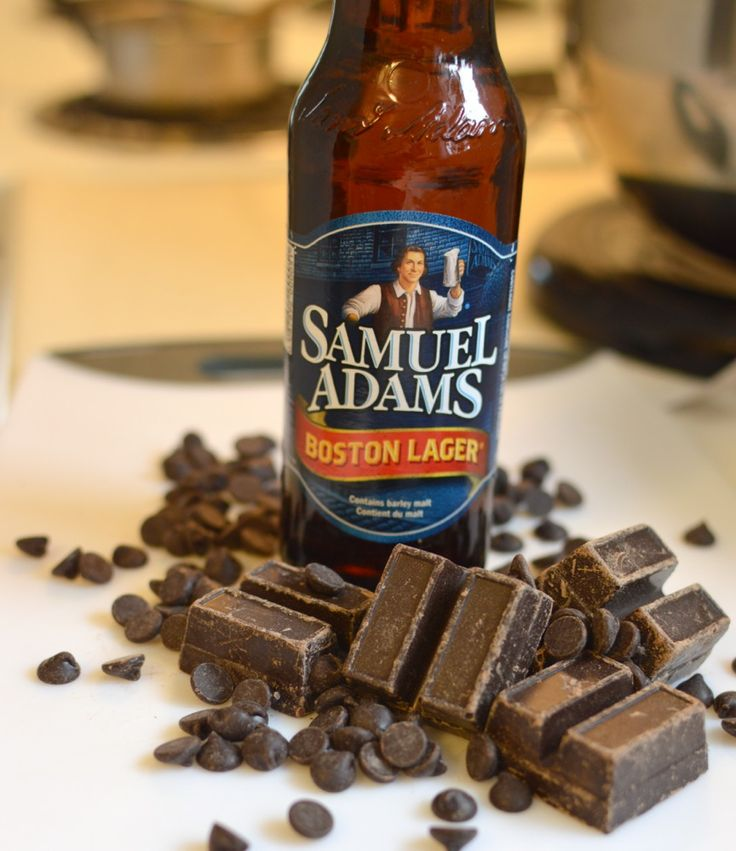 Samuel Adams Boston Lager beer brownies
