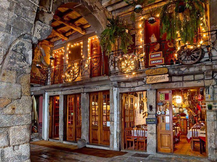 Chez Lapiin restaurant, Ribeira - Porto Portugal