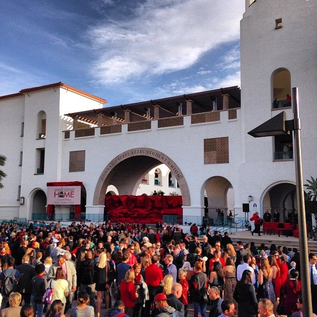 The Conrad Prebys Aztec Student Union Grand Dedication Ceremony