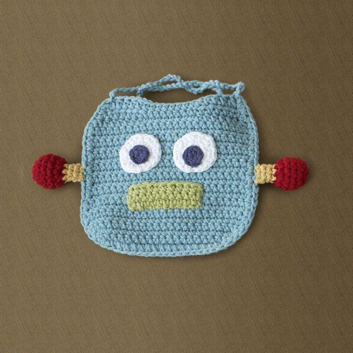Encantador Free Knitted Baby Bib Patterns Motivo - Manta de Tejer ...