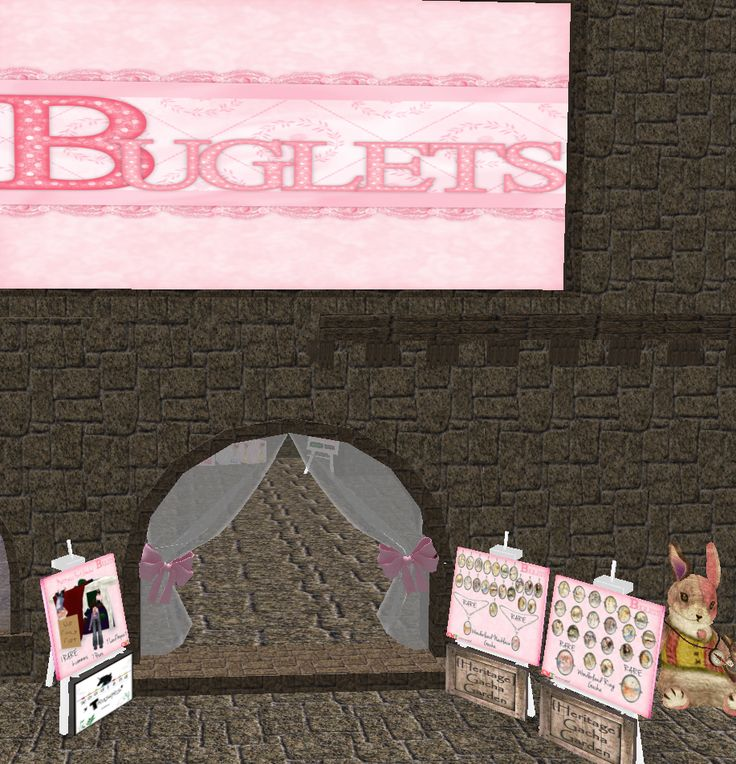 Buglets - 50% of everything including gift cards (except gachas) http://maps.secondlife.com/secondlife/Kilimanjaru/220/58/24