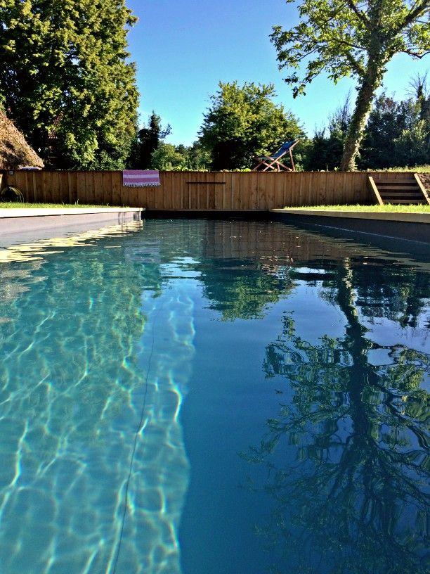piscine - bassin de nage - maison d'hôtes Bel Estiu - Dordogne
