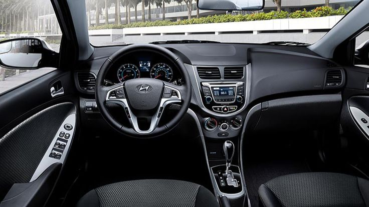 """Car and Driver calls the Hyundai Accent """"affordable, practical, and even stylish"""" and that the sedan feels more """"upscale"""" than the competition."""