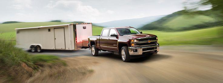 2015 Chevrolet Silverado 2500HD towing trailer http://www.santafechevroletcadillac.com