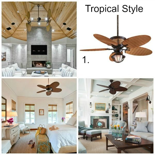 Beach Style Ceiling Fans with Lights Wanting a ceiling fan like this for your home? Click to see more...