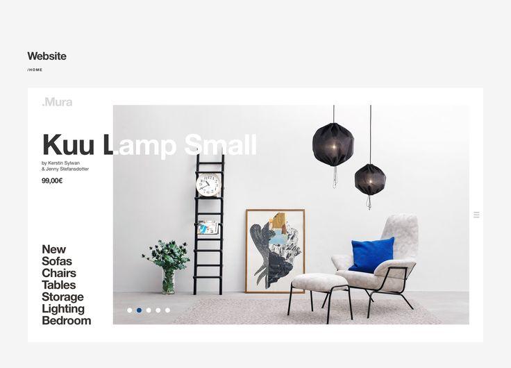 .Mura branding and website on Behance