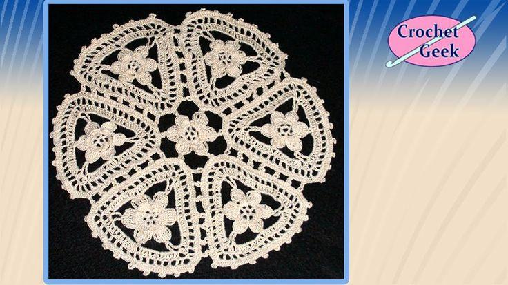 Crochet Lace Latorre - Motif video