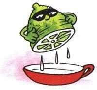 """Для проведения опыта вам понадобятся: половинка лимона, ватка, спичка, чашка воды, лист бумаги.  1. Выдавим сок из лимона в чашку, добавим такое же количество воды. 2. Обмакнём спичку или зубочистку с намотанной ватой в раствор лимонного сока и воды и напишем что-нибудь на бумаге этой спичкой. 3. Когда """"чернила"""" высохнут, нагреем бумагу над включённой настольной лампой. На бумаге проявятся невидимые ранее слова."""
