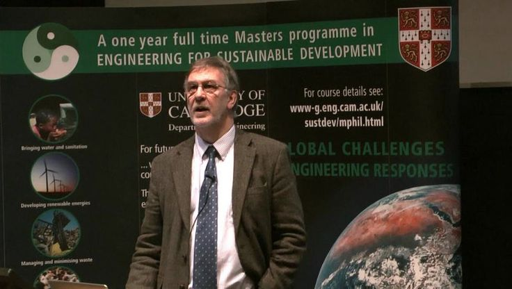 Dr Julian Allwood, Reader in Engineering, University of Cambridge. Lecture: Sustainable materials - with both eyes open. One of the 10th Annual Distinguished Lecture…
