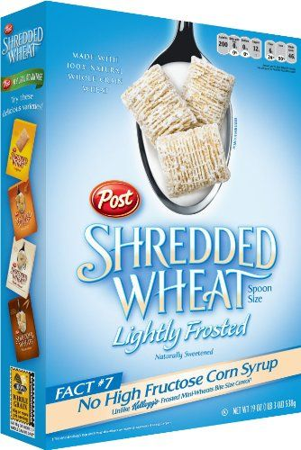 The Healthy Hoff: Snack Attack: Frosted Shredded Wheat