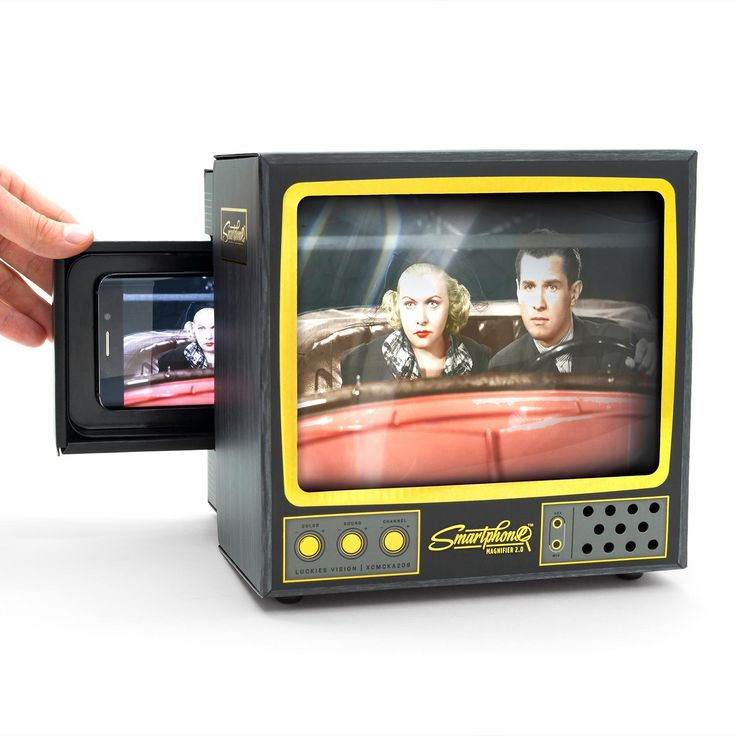Met de Luckies Smartphone Magnifier hoef je niet meer met ...