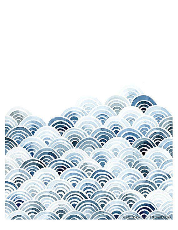 Yao Cheng - Blue Waves