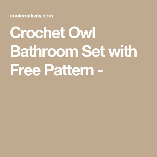 1000 Ideas About Owl Bathroom On Pinterest
