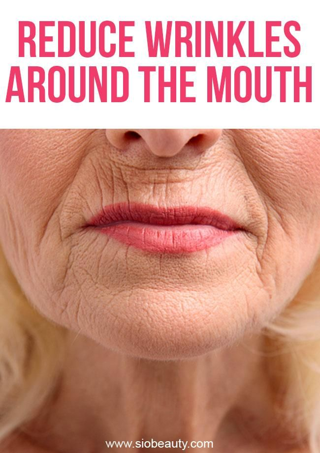 how to stop wrinkles around the lips