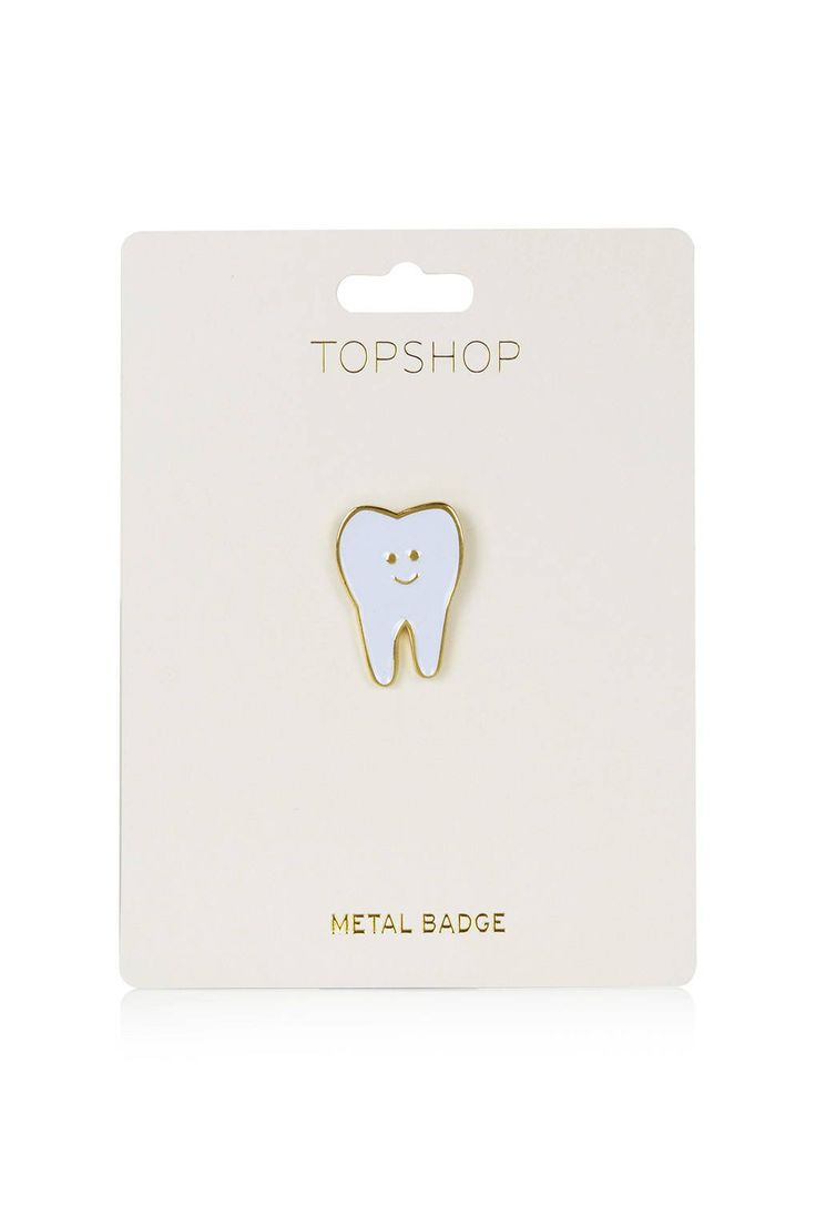 Tooth Pin Badge                                                                                                                                                                                 More