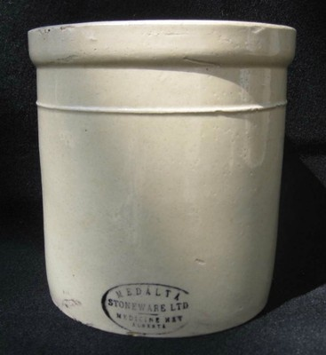 Medalta Stoneware 1 Gallon Butter Crock | eBay