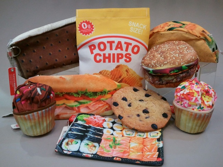 Bags that look like food?! All under 100 calories.