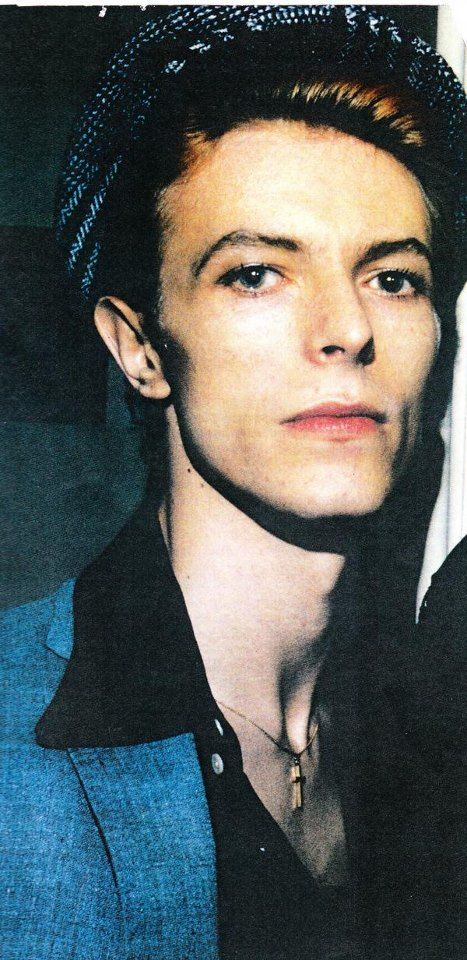 David Bowie circa 1976-77, very pretty.