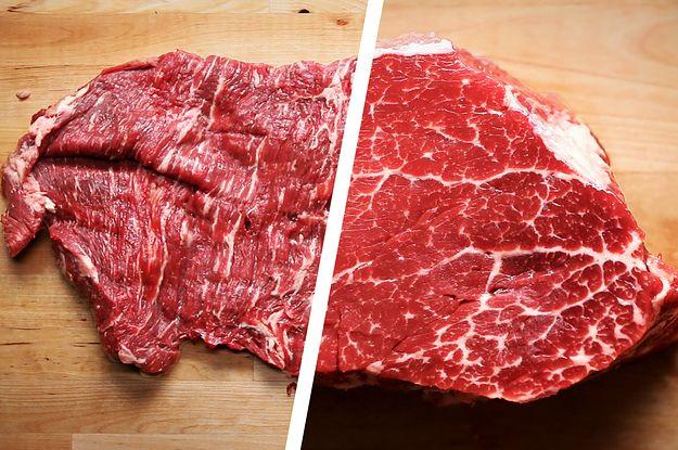 Die besten 25 different steak cuts ideen auf pinterest for Different ways to make hamburger meat