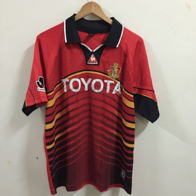 J League Jersey NAGOYA Grampus Eight Red Jersey Size XL | eBay