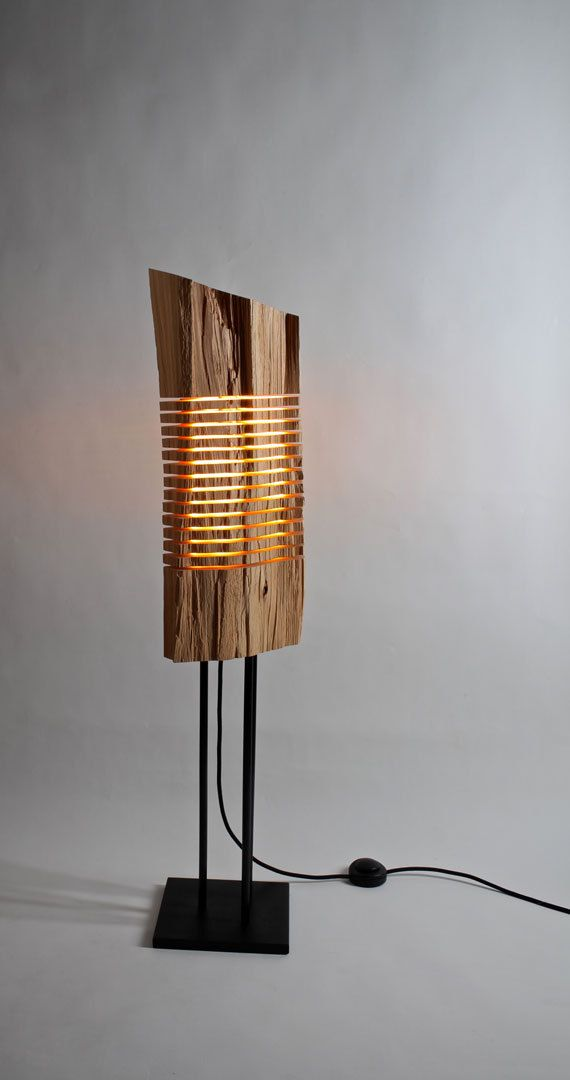 Light Sculpture  Reclaimed Wood by SplitGrain on Etsy