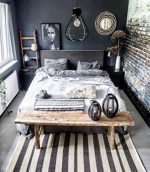 Loft-Geist im Hauptschlafzimmer: 5 Ideen für industrielle Deko
