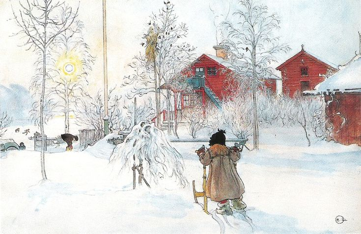 Vintage Christmas. Artist Carl Larsson ( 1853 - 1919) - / - - Bookmark Your Local 14 day Weather FREE > www.weathertrends360.com/dashboard No Ads or Apps or Hidden Costs