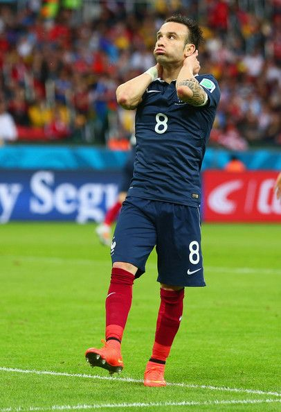 Mathieu Valbuena of France in the 2014 World Cup