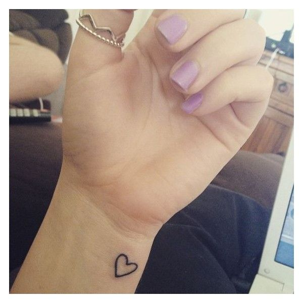 42 Beautifully Simple Wrist Tattoo Ideas You'll Love ❤ liked on Polyvore featuring accessories and tattoos
