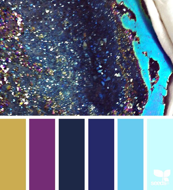 Mineral Sparkle via @designseeds