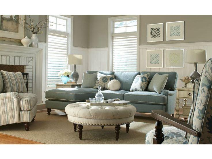 Paula Deen By Craftmaster Living Room Sofa P734357BD   Tyndall Furniture  Galleries, INC   Charlotte
