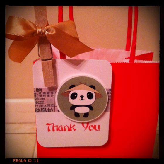 panda party kung fu panda red bags 17 birthday birthday party ideas ...