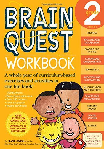54 best kids education images on pinterest grade 3 homeschool take a look at this brain quest workbook second grade paperback by back to school educational tools on today fandeluxe Gallery