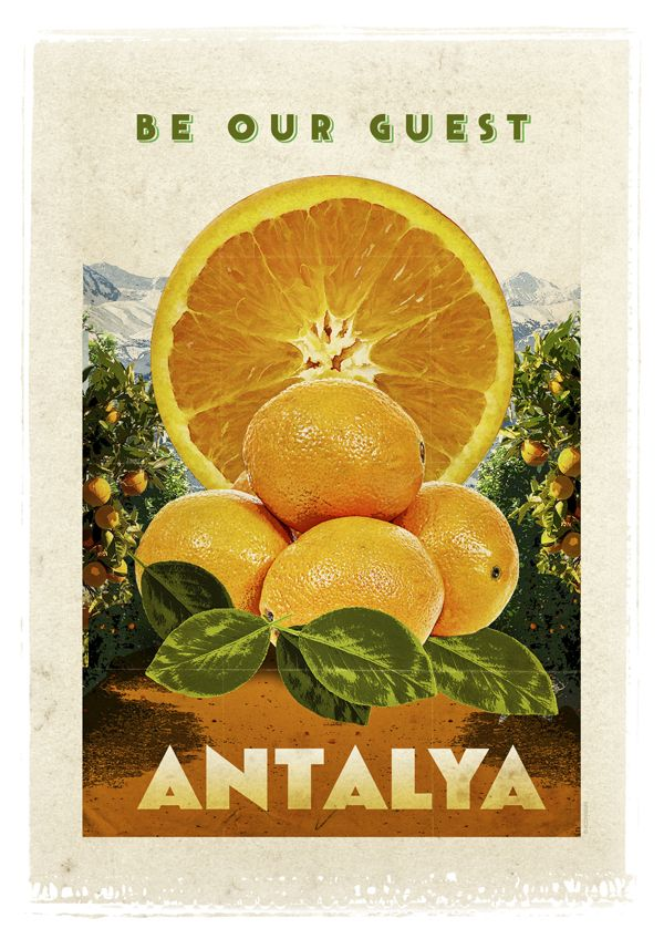 Antalya ve Portakallar  #turkey