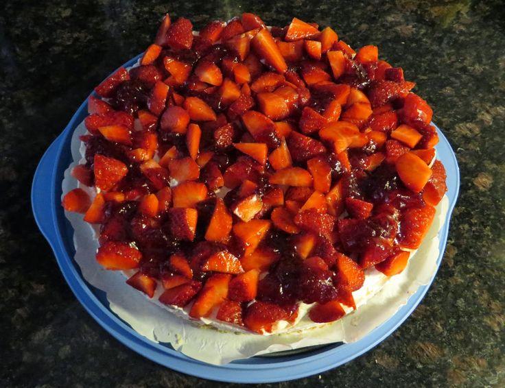 Anita's potjes en pannen: Monchou-taart een beetje anders