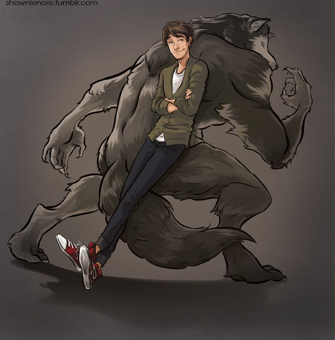 My OC Elias from my webcomic How to be a Werewolf by misshatter.deviantart.com on @DeviantArt