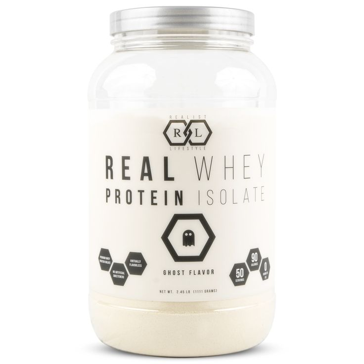Real Whey Protein Isolate - Ghost Flavor