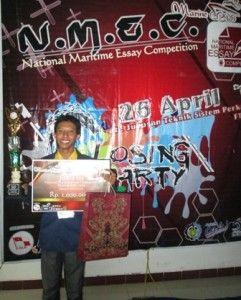Mahasiswa UTS Raih Juara di ajang NMEC 2014