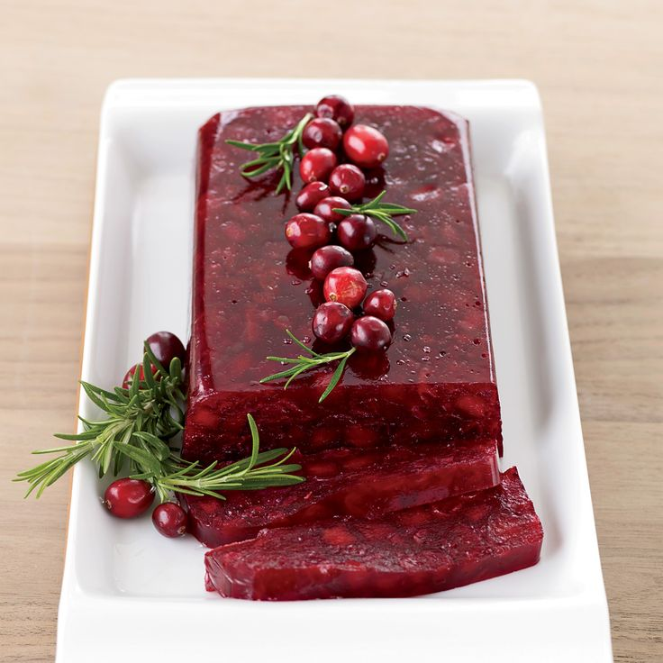 Jellied Cranberry Sauce with Fuji Apple | Recipe ...