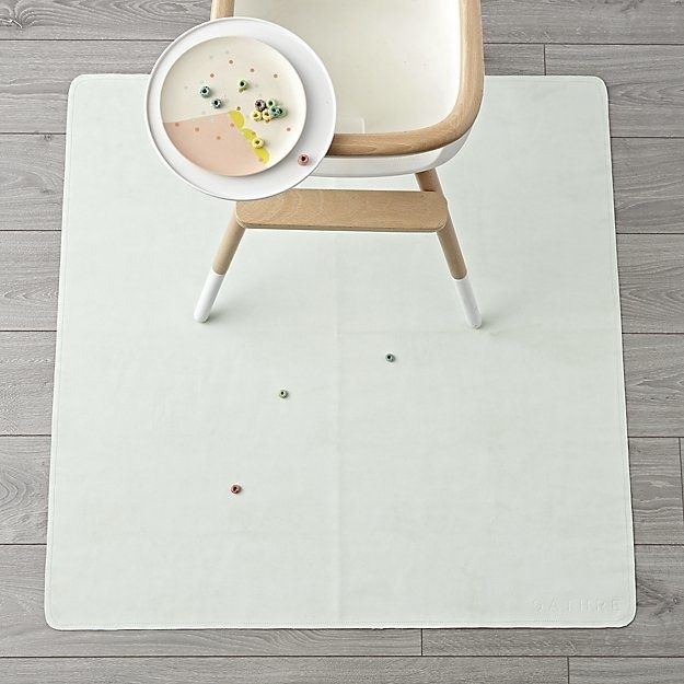 10 Must Haves For Starting Solids With Your Baby High Chair Mat