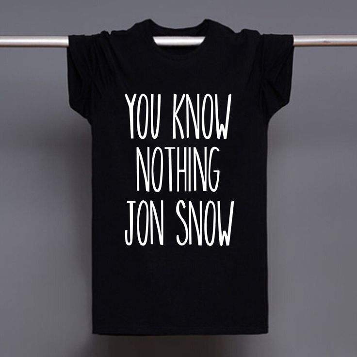 Winter is Coming Online Game of Thrones Merchandise 16.99$ You know nothing John Snow