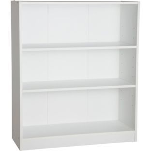 £22.99 Maine Small Extra Deep Bookcase - White at Argos.co.uk Size