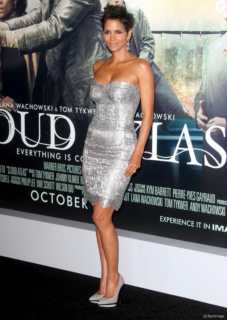 """Halle Berry - Avant-première du film """"Cloud Atlas"""" a Hollywood, le 24 octobre…"""