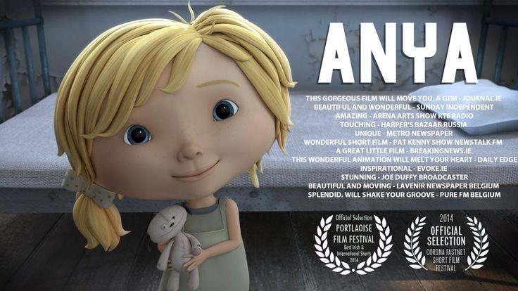 ANYA Un cortometraje dirigido por Daniel O´Connor que narra la vida de una niña rusa en un orfanato. Una historia sobre los pequeños gestos que producen cambios.