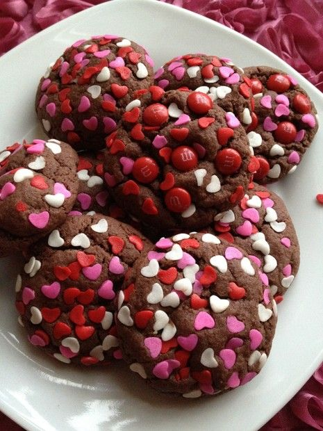 Devils Food Chocolate Cake Mix Cookies by sallysbakingaddiction.com