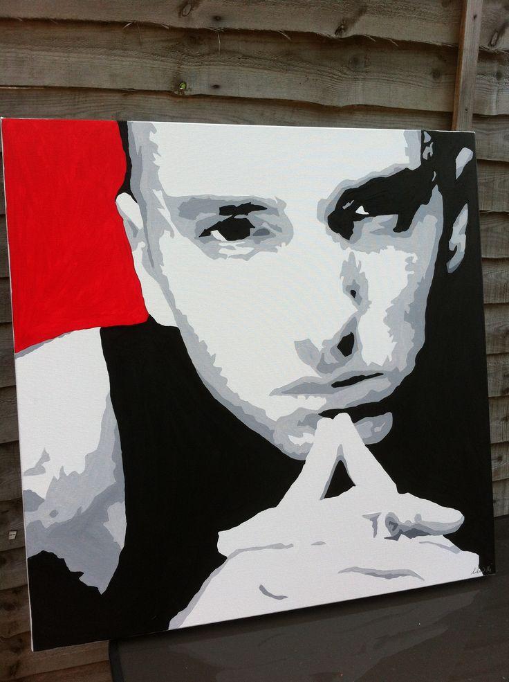 #eminem painting