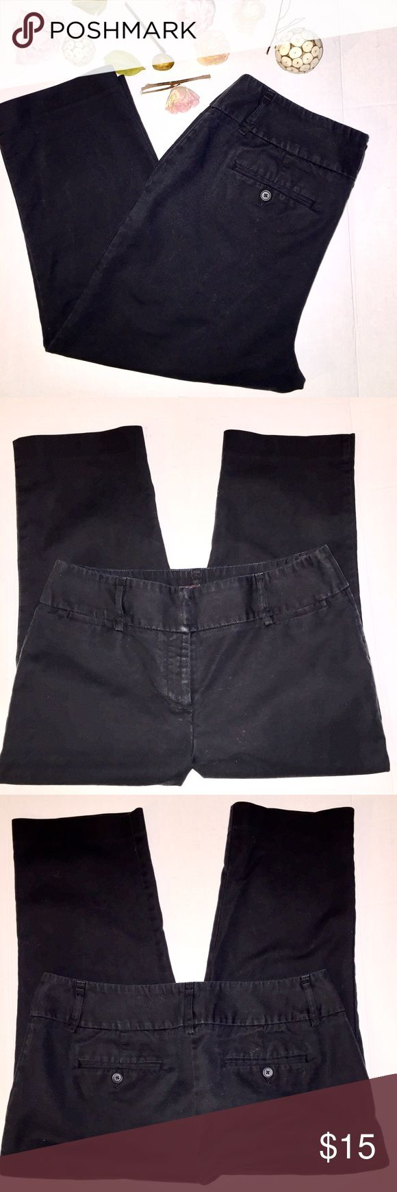 Like New 🌸Dana Buchman 🌸Signature Crop Pants Versatile Stylish Dana Buchman Signature 🌷 Crop Pants, Black, Size 12. Great Condition. Dana Buchman Pants Ankle & Cropped