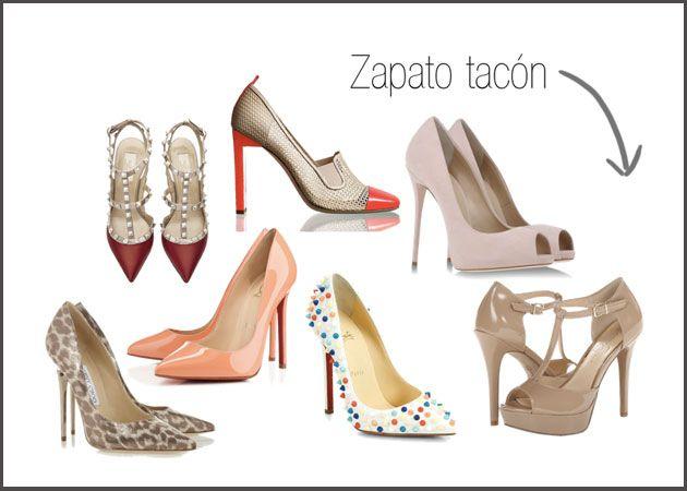 El zapato de tacón ideal para primavera es el clásico salón o el modelo peep toes.